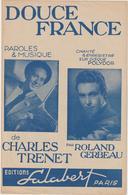 (TRE)CHARLES TRENET , Douce France - Scores & Partitions