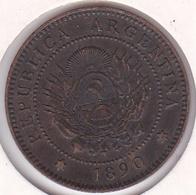 ARGENTINE / TUCUMAN. UN CENTAVO 1890. BRONZE - Argentine
