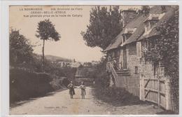 CARTE POSTALE   CERISY-BELLE-ETOILE 61  Vue Générale Prise De La Route De Caligny - France