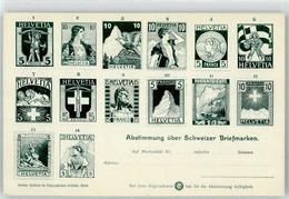53023061 - Abstimmung Ueber Schweizer Briefmarke - Stamps (pictures)