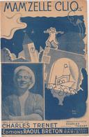 (TRE)CHARLES TRENET ,Mam'zelle Clio - Scores & Partitions