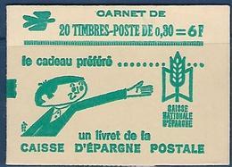"FR Carnet YT 1331A-C2 "" Coq De Decaris "" 1962 Fermé - Markenheftchen"