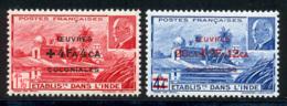 Inde 1944 Yvert 231 / 232 ** TB - Unused Stamps