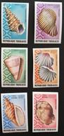 TOGO 1974 Seashells IMPERF. - Togo (1960-...)