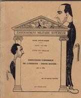 """Ecole D'Etat-Major. Année 1953-54. XVe Promotion. Conclusions D'ensemble De L'exercice """"petite Mouche"""". - Livres"""