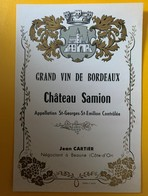 10583 - Château Samion St-Georges Saint-Emilion - Bordeaux