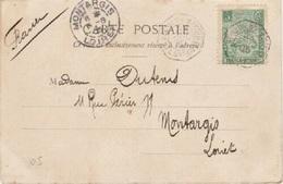 MARITIME - Cachet Paquebot LA REUNION A MARSEILLE Sur CPA MAJUNGA - Postmark Collection (Covers)