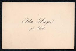 C6518 - Ida Siegert Geb. Loth - Visitenkarte - Visitenkarten