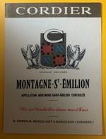10592 - Montagne Saint-Emilion Cordier - Bordeaux