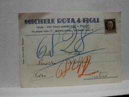 BERGAMO   -- VINO -UVA - DISTILLERIA  -- ACCESSORI  -- MICHELLE ROTA & FIGLI  -- VITI-ITALO -AMERICANE - Vigne