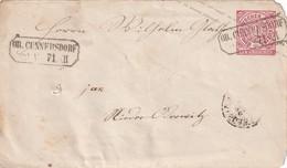 NORDDEUTSCHER BUND 1871   ENTIER POSTAL/GANZSACHE/POSTAL STATIONERY   LETTRE DE CUNNERSDORF - Norddeutscher Postbezirk (Confederazione Germ. Del Nord)