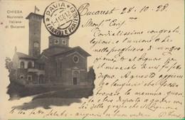 BUCAREST. Chiesa Nazionale Italia. Romania.  712 - Romania