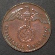 N°39 2 REICHSPFENNIG 1939 E - [ 4] 1933-1945 : Third Reich
