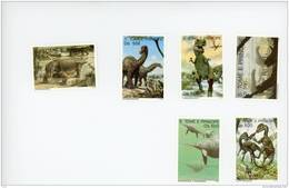 Sao Tome-1993 -Dinosaures Et Autres-MI 1434/41***MNH-Valeur 24 Euro - Sao Tome Et Principe