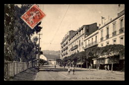 ALGERIE - ALGER - LA RUE SADI-CARNOT - CAFE COTONOUVILLE - Alger