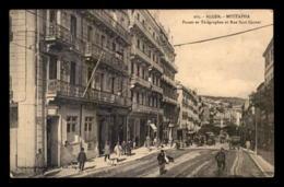 ALGERIE - ALGER - MUSTAPHA - POSTES ET TELEGRAPHES RUE SADI-CARNOT - Alger
