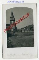 JEANDELIZE-CARTE PHOTO Allemande-Guerre 14-18-1WK-France-54-Militaria- - Andere Gemeenten