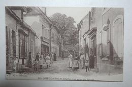 02 : Beaurieux  - Rue De L'Eglise  - Vue Prise Du Levant Animation ,  ( Comptoirs Français ) - France