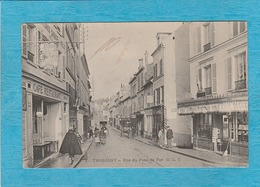 Thorigny ( Seine-et-Marne ). - Rue Du Pont De Fer. - Café-Restaurant. - Altri Comuni