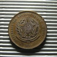 Brazil 20 Reis 1899 - Brésil