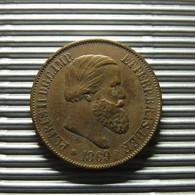Brazil 20 Reis 1869 - Brésil
