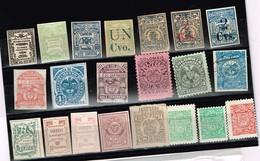 Lot Colombie Anciens Timbres à Identifier - Stamps