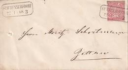 NORDDEUTSCHER BUND 1868  LETTRE  DE SEIFEHNNERSDORF - Norddeutscher Postbezirk