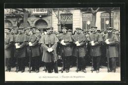 Postal San Sebastian, Cuerpo De Miqueletes - Guipúzcoa (San Sebastián)