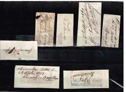 Lot France Anciens Timbres Fiscaux à Identifier - Stamps