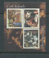 Cook Islands 2013 Christmas Miniature Sheet MNH Michelangelo Rembrandt - Cook Islands