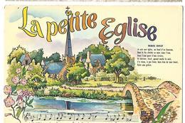 LA PETITE ÉGLISE Paroles De Chanson Charles FALLOT Paul DELMET, Dessin - Other