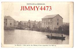 CPA - Le Moulin Et L'Etang En 1945 - CHATILLON En VENDELAIS ( Arr. De Fougères ) 35 Ille Et Vilaine - Edit. A. FLEURY - Fougeres