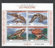 ST2020 2015 NIGER FAUNA BIRDS FAUCONS FALCONS 1KB MNH - Arends & Roofvogels