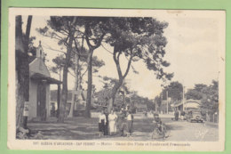 CAP FERRET : Notre Dame Des Flots Et Boulevard Promenande. 2 Scans. Edition Chatagneau - Autres Communes
