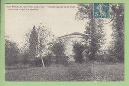 MOUILLAC Près Fronsac : Eglise Romane De St Fort. TBE. 2 Scans. Edition Guillier - Autres Communes