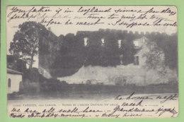 FARGUES Près Langon : Ruines De L'Ancien Château. Dos Simple. 2 Scans. Edition Guillier - Autres Communes