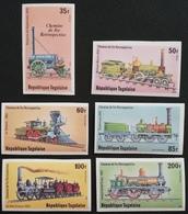 TOGO 1979 Historic Locomotives IMPERF - Togo (1960-...)