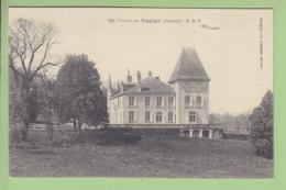 NAUJAN : Le Château. TBE. 2 Scans. Edition Savignac - Autres Communes