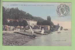 LORMONT : Les Bords De La Garonne, Vue Prise Du Débarcadère. TBE. Oblitération Bergerac à Bordeaux. 2 Scans. Ed Bosq ? - Autres Communes