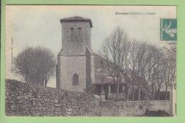 GIRONDE ; L'Eglise. TBE. Oblitération Bergerac à Bordeaux. 2 Scans. Edition Roumazeille - Autres Communes