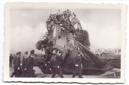 Foto Photo - Oorlog Guerre 1939 - 1945 - Zeebrugge - Strand - Plage - Soldats Allemand - Duitse Soldaten - N°1 - Guerre, Militaire
