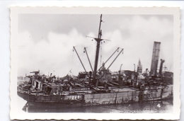 Foto Photo - Oorlog Guerre 1939 - 1945 - Zeebrugge - Strand - Plage - Gezonken Schip - N°4 - Guerre, Militaire