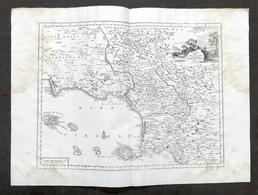 Carta Geografica Della Terra Di Lavoro - Campagna Felice - Albrizzi 1730 Ca. - Altri