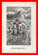 CPA MILITARIA.  Le Souvenir Français. Dessin De M. Biennier...B031 - Patriottiche