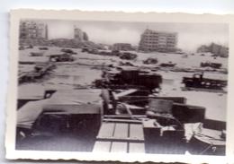 Foto Photo - Oorlog Guerre 1939 - 1945 - Zeebrugge - Strand - Plage -  Puin - N°7 - Guerre, Militaire