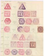 Lot Pologne Poczta Miejska Varsovie - Stamps