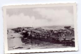 Foto Photo - Oorlog Guerre 1939 - 1945 - Zeebrugge - Strand - Plage -  N°8 - Guerre, Militaire