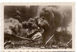 Foto Photo - Oorlog Guerre 1939 - 1945 - Zeebrugge - Strand - Plage - Brand  N°9 - Guerre, Militaire