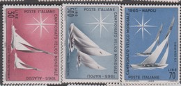 Italy Republic S 997-999 1965 World Yachting Championship,mint Never  Hinged - 1961-70: Mint/hinged