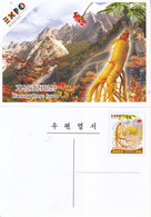 North Korea 2015  Milan Expo Postal Pre-stamped Card - 2015 – Milano (Italia)